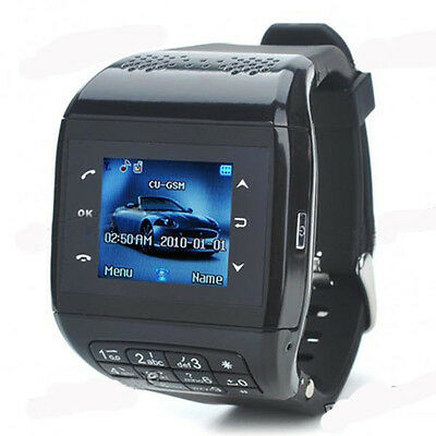 Unlocked GSM Wrist Watch Mobile Cell Phone Bluetooth keypad Touch Screen MP3