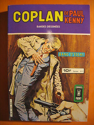 Album de 2 BD Coplan de Paul Kenny  N° 3284 -DL 1980 -Comics Pocket