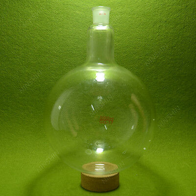 round bottom Flask,5000ML,single neck,24/29,heavy wall,Lab RBF