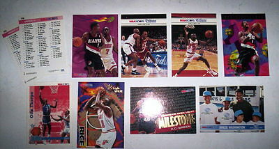 Superbe Lot 10 Cartes Basket Nba Special Hoops