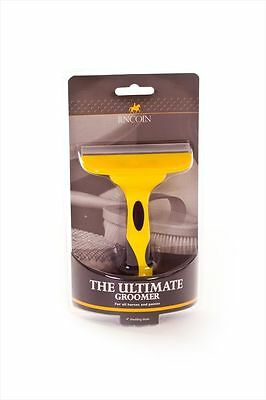Lincoln Ultimate Groomer - Horse & Pony Grooming - Dual Shedding Remove Loose Ha