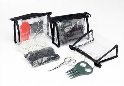 Lincoln Plaiting Kit - Horse & Pony Grooming - Black