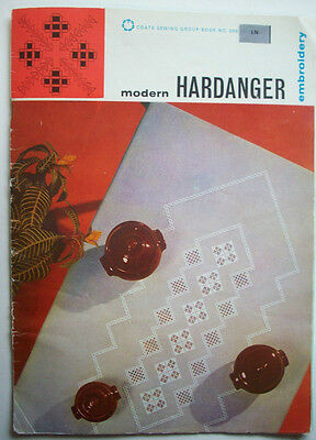 1975 Modern Hardanger Embroidery designs instruction patterns diagrams