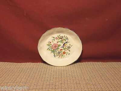 Aynsley China Pembroke Pattern Small Open Oval Candy Dish Shell Design