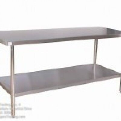 "KTI HEAVY DUTY COMMERCIAL 30""X48"" STAINLESS STEEL WORK TABLE"