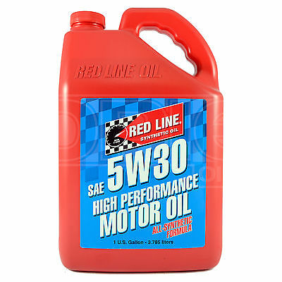 RED LINE High Performance Synthetic Motor Oil 5W-30 1 US Gallon 3.78 litre