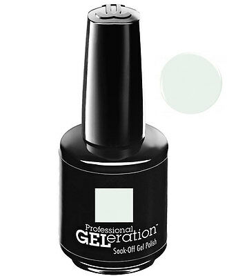 Jessica Geleration UV Gel Polish Chalk White - .5 fl oz GEL832