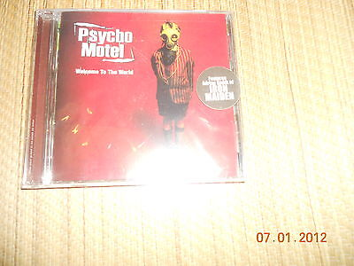 Psycho Motel - Welcome to the World CD sealed OOP RARE NEW RARE Iron Maiden
