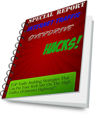 ***SPECIAL REPORT Put Your Internet Traffic on OVERDRIVE ebook Resell Rights PDF