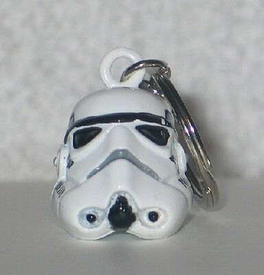 Star Wars StormTrooper Mask / Helmet Solid 3-D Keychain NEW UNUSED