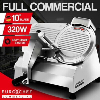 "【20%OFF】EuroChef Commercial 10"" Meat Slicer Food Cutting Machine Electric"