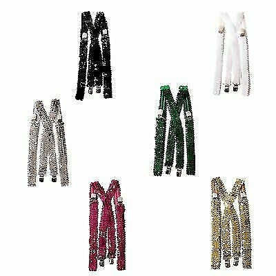 Sequined Suspenders