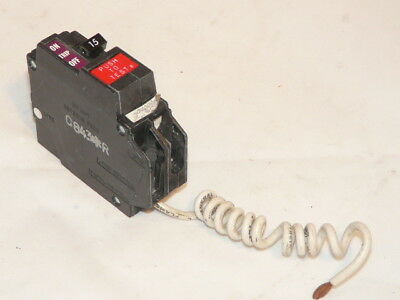 Used General Electric THQL1120GF GE Circuit Breaker Ground Fault 1 pole 20 amp