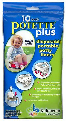 Kalencom Potette Plus On the Go Potty 10 Pack Liner Re-Fills