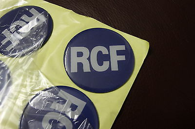 RCF Logo Plastic Sticker 55mm
