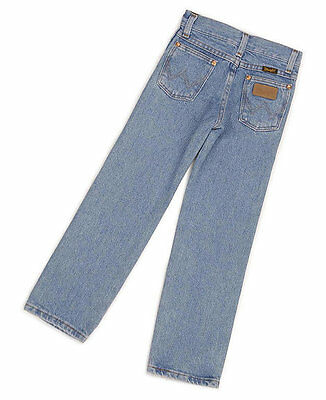WRANGLER Boys COWBOY CUT Jeans - 1T Regular - PRE WASHED BLEACH - NWTs - 13MWJSB