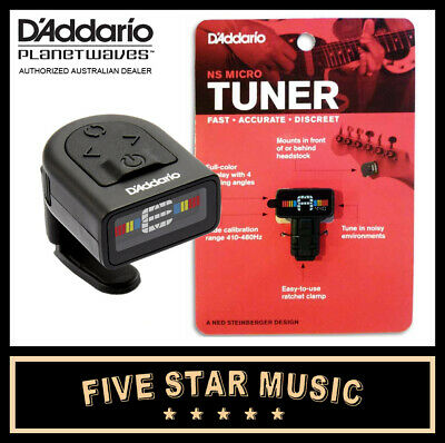 Planet Waves Tuner Ct-12 Ns Micro Headstock Guitar Tuner Ct12 Pw-Ct-12 - New