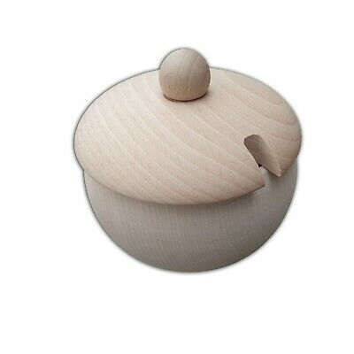 Plain Wood- Sugar-basin / Sweets, 100 % Natural Wood