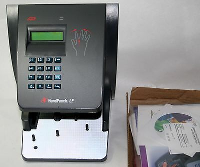 Time America New In The Box Handpunch 2000 Le  Ethernet Hand Punch Hp-2000
