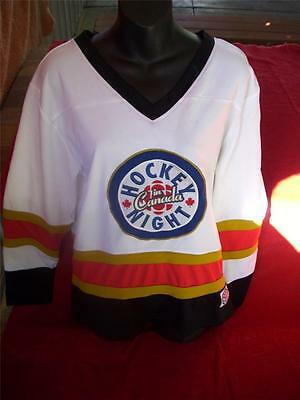 Canada Hockey Night Jersey New With Tag Size Y/l