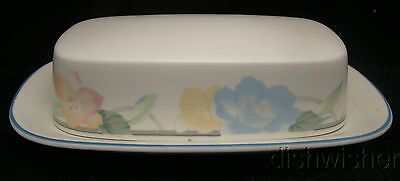 Mikasa Intaglio GARDEN POETRY CAC08 Covered Butter Dish(es)