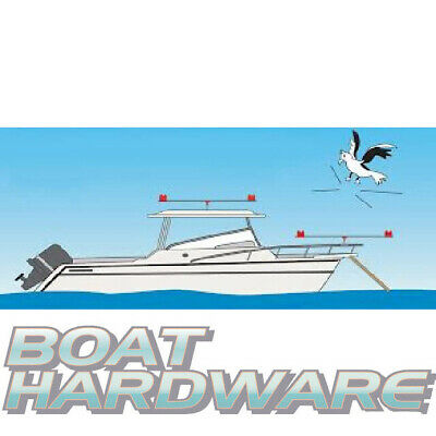 Gullsweep Bird Deterrent for Boat Jetty Marina NO More Bird POO Easy Install NEW