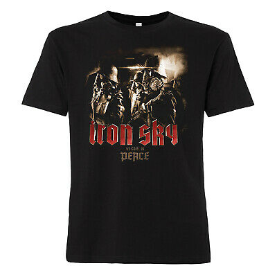 Iron Sky - T-Shirt We come in peace Film Kult Mond