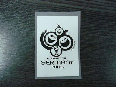 RARE! World Cup Germany 2006 Qualifying PU Patch