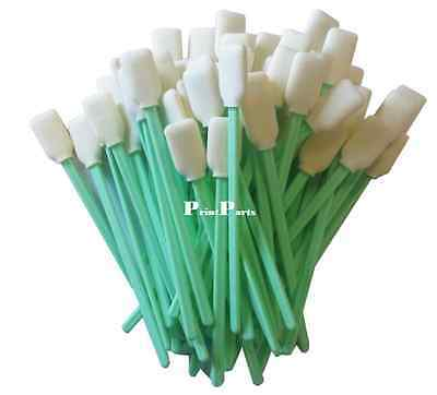 Cleaning Swabs FOAM 100pcs for Solvent Resistant Printers Parts FREE POSTAGE AU.