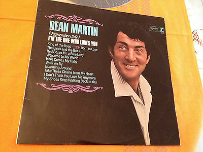 DEAN MARTIN - (REMEMBER ME) I'M THE ONE WHO LOVES YOU - 1966 Aus Lp MONO - VG+