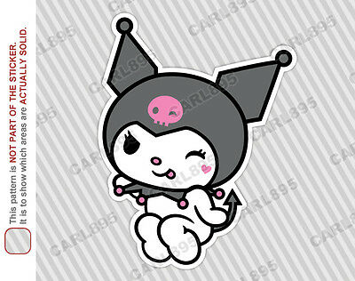 Hello Kitty Sanrio Kuromi (B) Car Truck SUV Vinyl Bumper Sticker