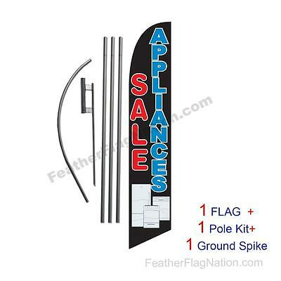 Appliances Sale Feather Banner Swooper Flag Kit with pole+spike