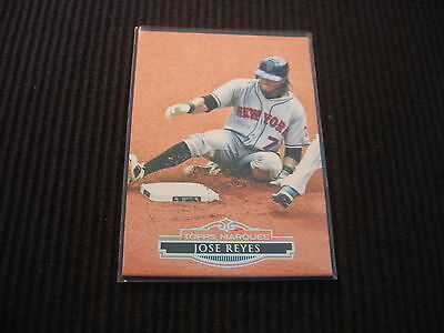 2011 TOPPS MARQUEE #79 JOSE REYES BASE CARD NEW YORK METS