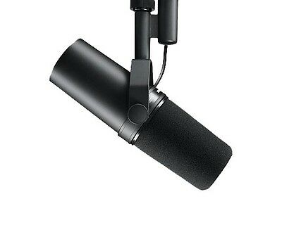 Shure SM7B  Cardioid Dynamic Microphone Broadcast Announce Mic