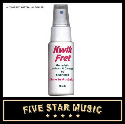 Guitar Care - Kwik Fret Guitar Lubricant & Cleanser NEW