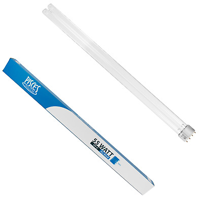 2 X 55W 55 Watt Pll Pond Filter Uv/uvc Bulb/light/tube/lamp Ultra-Violet
