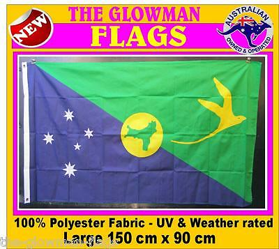 CHRISTMAS ISLAND flag Australian territory includes AUSTRALIA POST TRACKING