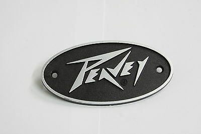 PEAVEY Plastic Logo Badge 95mm x 50mm - Oval Shape