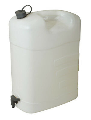 Fluid Container Large  35 Litre * With Tap Polyethylene Water