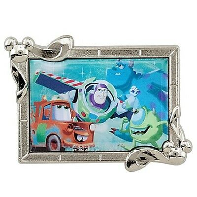 Disney LE 500 Pin PIXAR CARS TOW MATER BUZZ LIGHTYEAR SULLY MIKE Store 25th Ann.