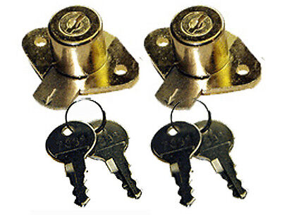 6553PB Cylinder, Tumbler Disk Lock With Keys, Sold in Lots of 2