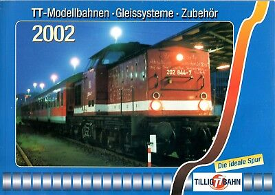 Catalogue Tillig 2002 - échelle TT (1/120)
