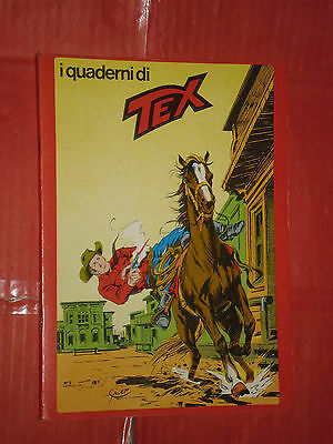 QUADERNO TEX- RARA SERIE ROSSA -daim press e mondadori STRISCIA QUADRI CAVALLO