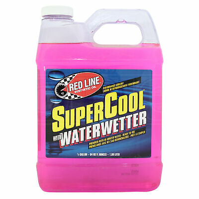 RED LINE SuperCool Coolant with WaterWetter 2 US Quarts Red Line (1.89 litres)