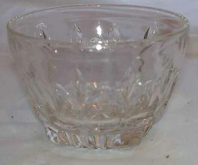 VINTAGE CLEAR CUT PRESSED GLASS PUNCH CUP OR TUMBLER