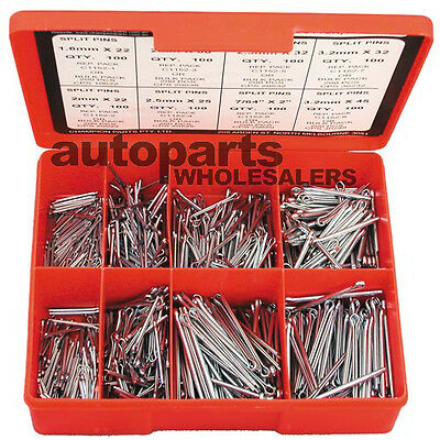 CHAMPION SPLIT PINS COTTER PINS ASSORTMENT KIT  (800 Pieces)