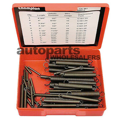 CHAMPION EXTENSION SPRINGS ASSORTMENT KIT (48 Pieces)