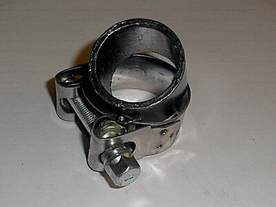 GRAPHITE SILENCER SEAL & STAINLESS CLAMP for KAWASAKI ER6 EXHAUST 650cc