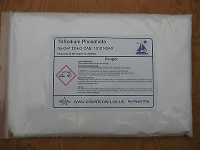Trisodium Phosphate TSP 500g  Lab  Paint cleaner  Degreaser