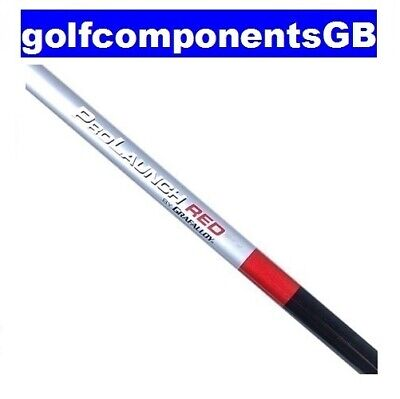 "Grafalloy Prolaunch Red Stiff Driver Wood Shaft ""brand New"""